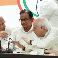 'Government is prisoner of its own fears,' says Congress leader Chidambaram on economic package