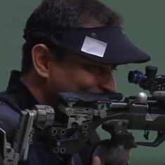 Indian shooting: Sanjeev Rajput wins 3-position rifle, Abhay Sekhon lands double in skeet