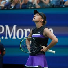 Tennis: Nursing a back injury, Wimbledon champ Simona Halep bows out of China Open in second round