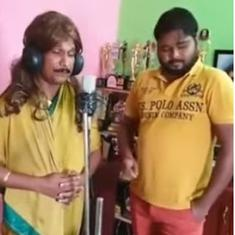 Watch: Odia actor posts spoof of rags-to-riches sensation, singer Ranu Mondal, angering everyone