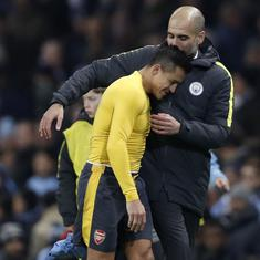 Alexis Sanchez not to blame for his failure at Manchester United, says Pep Guardiola