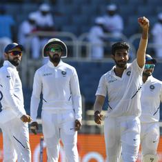 Watch: Jasprit Bumrah's sensational hat-trick in second Test against West Indies