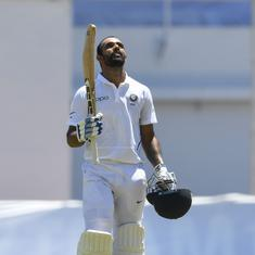 'Hope he's proud wherever he is': Hanuma Vihari dedicates first Test century to his father