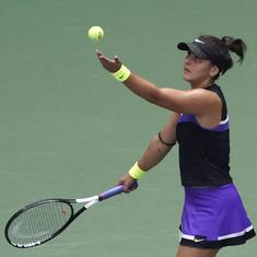 Australian Open: Bianca Andreescu coach positive for Covid-19, was on charter flight from Abu Dhabi