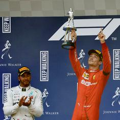 Belgian Grand Prix: Ferrari's Leclerc pips Hamilton to win his first Formula One race