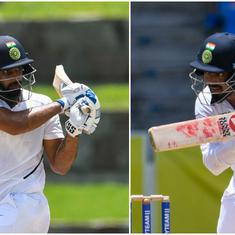 West Indies vs India: KL Rahul and Hanuma Vihari – a study in contrasts