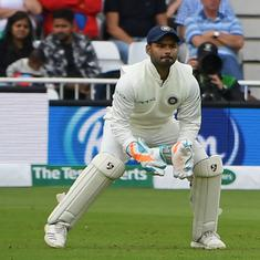 West Indies vs India: Pant beats Dhoni, becomes fastest Indian keeper to bag fifty Test dismissals