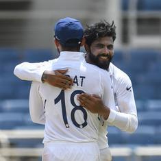 Jamaica Test: Shami, Jadeja pick three wickets as India complete 2-0 sweep of West Indies