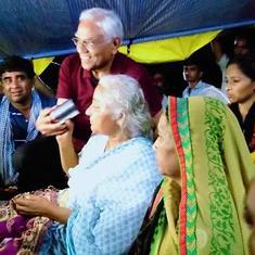 कमलनाथ सरकार के आश्वासन के बाद मेधा पाटकर ने भूख हड़ताल खत्म की