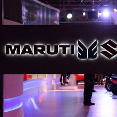 Maruti Suzuki among top gainers on Sensex as output rises for the first time in 10 months