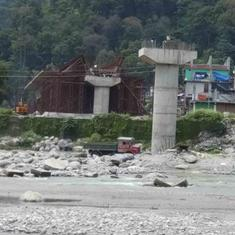 Disaster or development? Why locals are up in arms against the Sikkim rail project