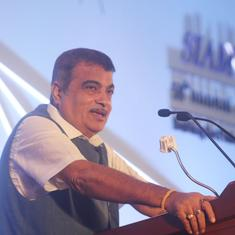 'Anything can happen in cricket and politics': Gadkari sidesteps question about Maharashtra logjam