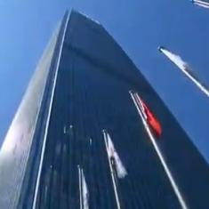 Watch: Nine hundred participants climb 82 floors in the Beijing Vertical Run