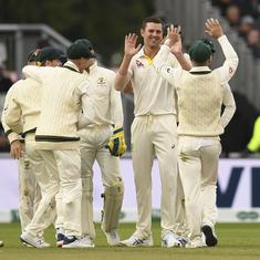 Ashes, Fourth Test: Hazlewood's late strikes put Australia in command against England on day three
