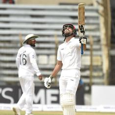 Rashid Khan, Ibrahim Zadran put Afghanistan on top against Bangladesh in one-off Test