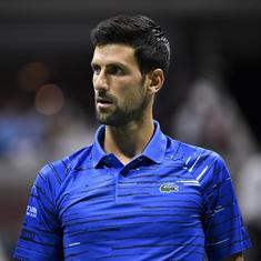 Novak Djokovic hints at skipping US Open, could resume season on clay in September