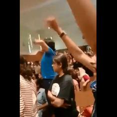 Watch: These videos of Miranda House students chanting 'ABVP go back' are viral on social media