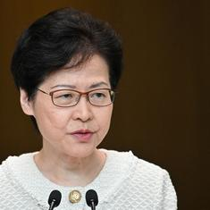 Hong Kong leader Carrie Lam warns US, other foreign countries to not interfere in protests