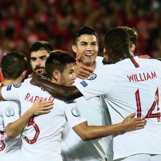 Euro 2020 qualifiers: Ronaldo scores four in Portugal win; England and France hammer minnows