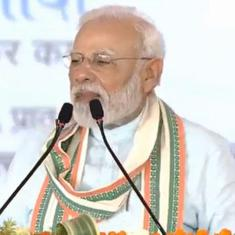'Some people get irritated when they hear the word cow', says Narendra Modi in Mathura