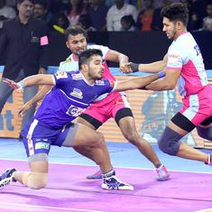 Pro Kabaddi: Haryana Steelers snatch tie against Jaipur Pink Panthers; Bengal Warriors edge U Mumba