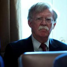 What the firing of John Bolton reveals about Donald Trump's foreign policy position