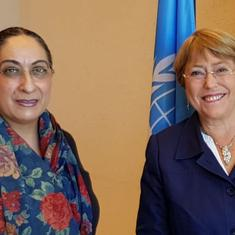 J&K: Indian diplomat briefs UN human rights chief about Pakistan's alleged attempts to disturb peace