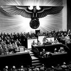 'The fixed vision of a monomaniac': George Orwell's 1940 review of Hitler's 'Mein Kampf'