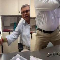 Watch: Ghaziabad passport officer abuses and slaps applicant, video goes viral