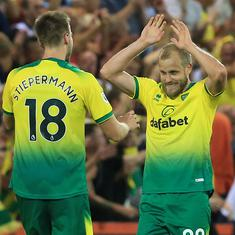 Premier League: Newly-promoted Norwich inflict stunning first defeat in eight months on Man City