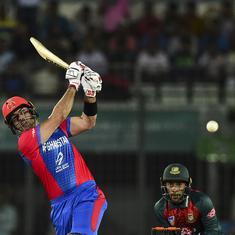 Tri-nation T20: Mohammad Nabi, Mujeed Ur Rahman shine in Afghanistan's win over Bangladesh