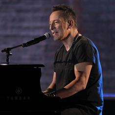 Bruce Springsteen is an Aristotle of our times, with his focus on virtue, friendship and community