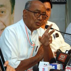 Watch: 'People in saffron robes are committing rapes,' alleges Digvijaya Singh