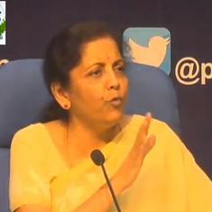 'Recalling what went wrong is necessary': Nirmala Sitharaman continues spat with Manmohan Singh