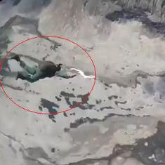 Watch: Battle zone manoeuvres by integrated troops in eastern Ladakh