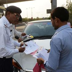 Steep fines for traffic violations are making Indian drivers more cautious – and provoking debate