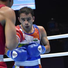 Amit Panghal becomes first Indian man to win silver medal in Boxing World Championships