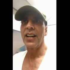 Watch: Akshay Kumar praises the Metro – to defend against Mumbai's fight to save Aarey Forest?