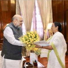'Genuine voters have been left out' of NRC, Mamata Banerjee tells Amit Shah in a  meeting
