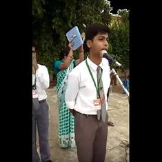 'Gandhi saying Hey Ram did not frighten anyone': Varanasi student gives outspoken speech, goes viral