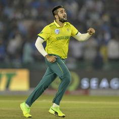 Bowlers are just there to spoil the party, pressure is on batsmen in T20s: South Africa's Shamsi