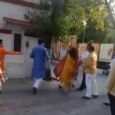 Delhi: BJP's Mehrauli district president sacked for assaulting wife outside party office