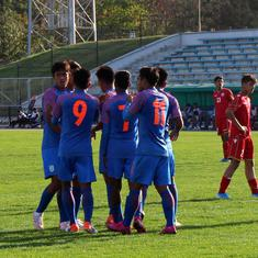 Football: India put five goals past Bahrain to maintain perfect start in AFC U-16 C'ship qualifiers