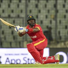 Tri-nation T20Is: Hamilton Masakadza's half-century in farewell game helps Zimbabwe beat Afghanistan