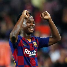 Ansu Fati, Spain's rising football star, is a timely reminder of Barcelona's greatest strength