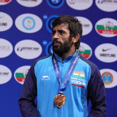 Wrestling: Bajrang Punia only wrestler to be exempted from selection trials for Asian Championships