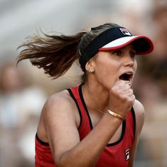 Tennis: Sofia Kenin saves match point against Jacqueline Cristian to reach quarter-finals in Lyon