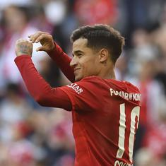 Bundesliga: Coutinho scores first Bayern Munich goal, Leipzig beat Werder Bremen to retain top spot