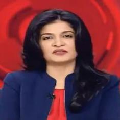 News anchor Anjana Om Kashyap calls Aditya Thackeray the 'Rahul Gandhi of Shiv Sena', apologises