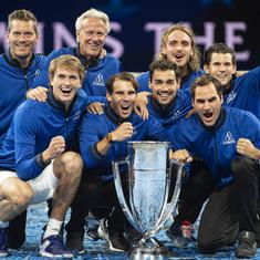 Laver Cup: Alexander Zverev hands Team Europe third successive title with thrilling win in decider